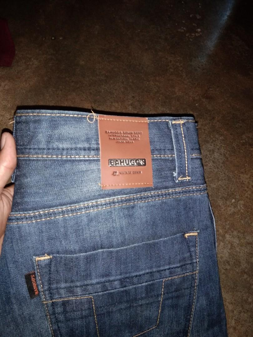 #BAPAU jeans second bru sekali di pakek