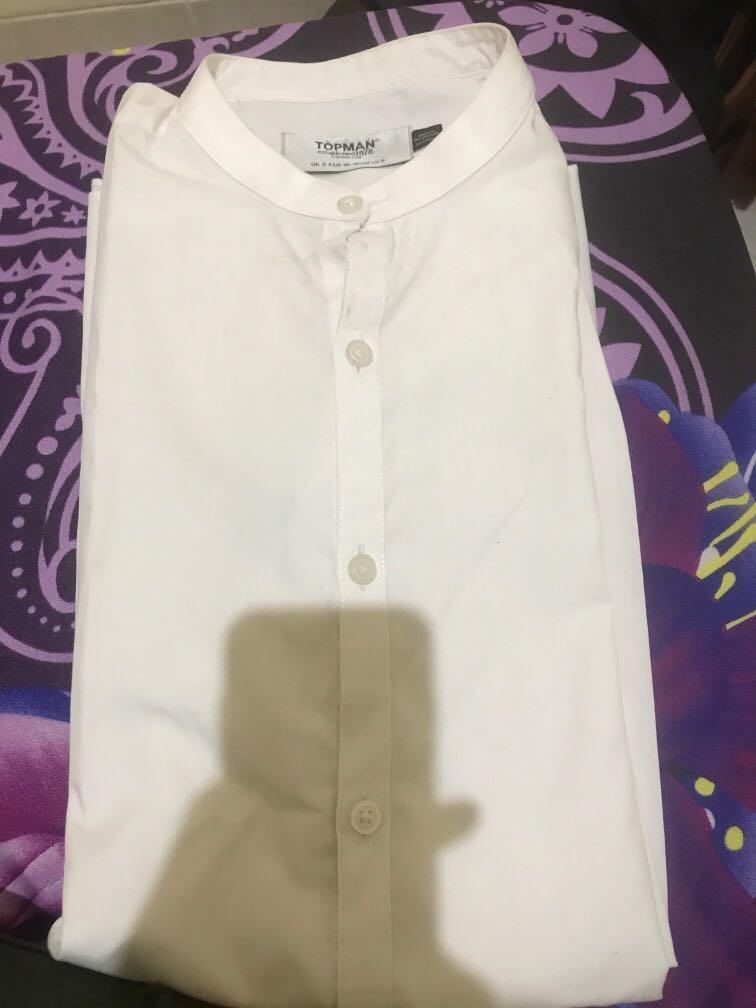 #BAPAU Topman white shirt