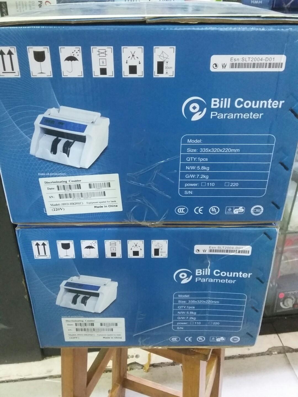 BILL COUNTER mesin hitung uang / bisa melacak uang palsu