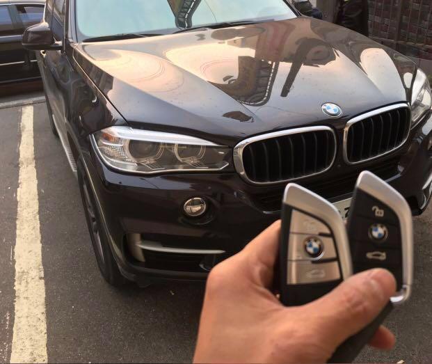 BMW Key Ring Cover  寶馬刀形車匙套