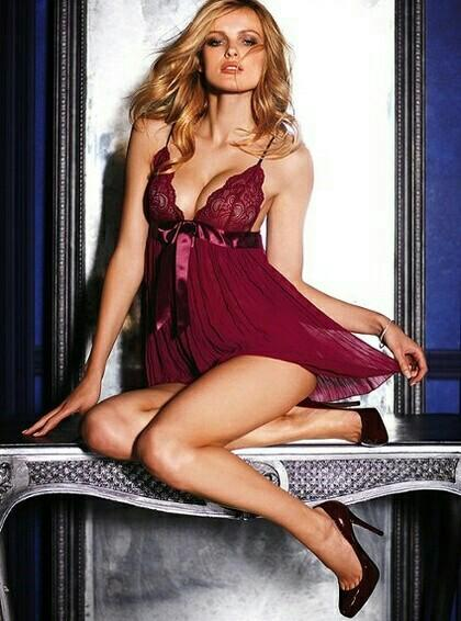 02f4f7011 BNWOT Victoria s Secret Very Sexy Pleated Babydoll Lingerie on Carousell