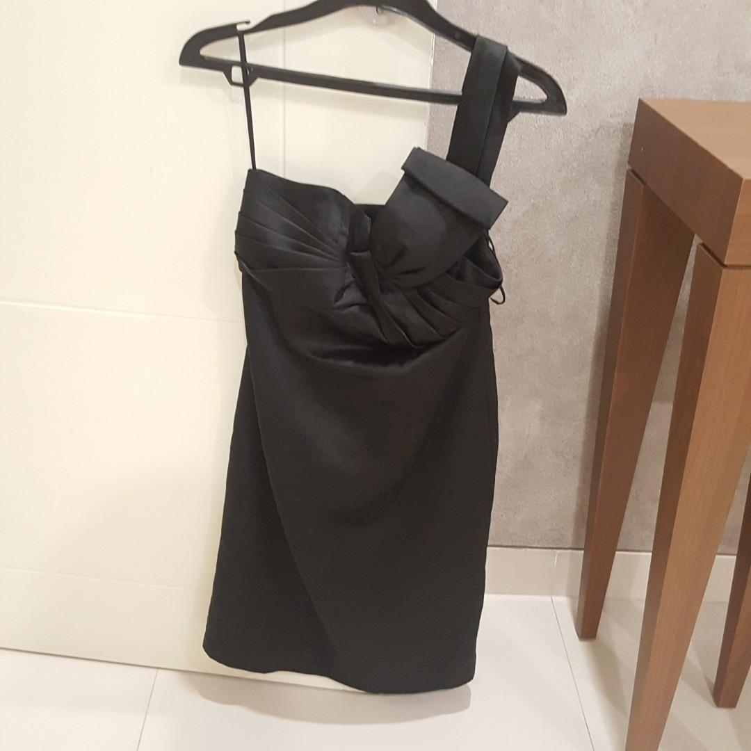 Body and Soul Black Party Dress