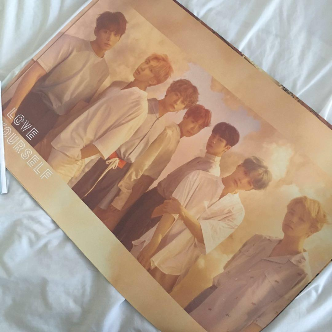 BTS Love Yourself & Map of the Soul Posters