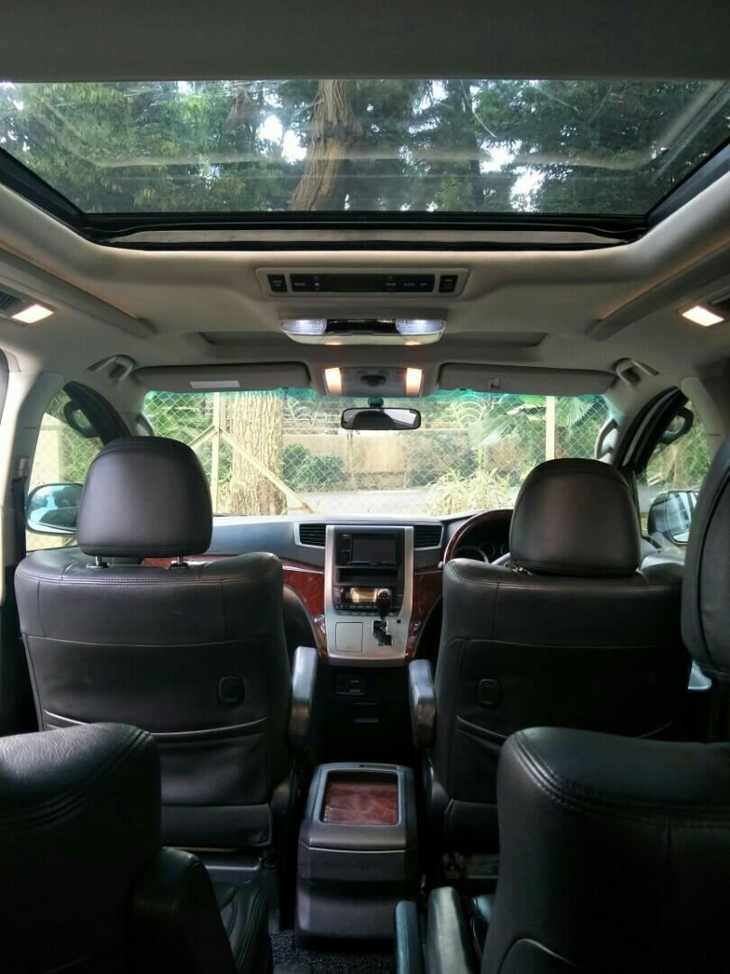 Alphard MVP car rental service WHATSAPP 9734 9238 JohnsionMover
