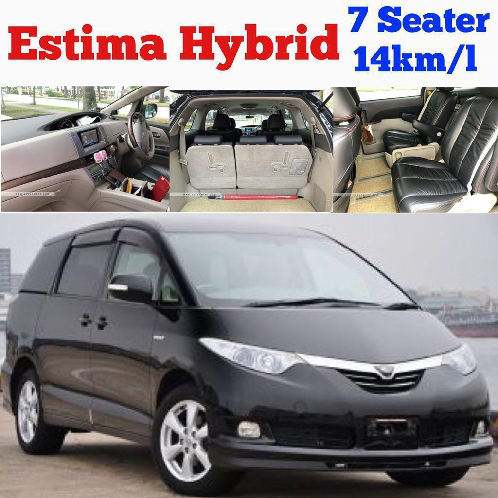 Car Rental ✨Toyota Estima MPV($69) ✨BMW 120i Convertible($69) ✨Alphard / Vellfire ($79) ✨Nissan Latio($49)✨Lexus Luxury GS450h Hybrid ($75)✨ ✨Stream($49) ✨ Leasing Rent +$10/day Grab GOJEK Private Hired