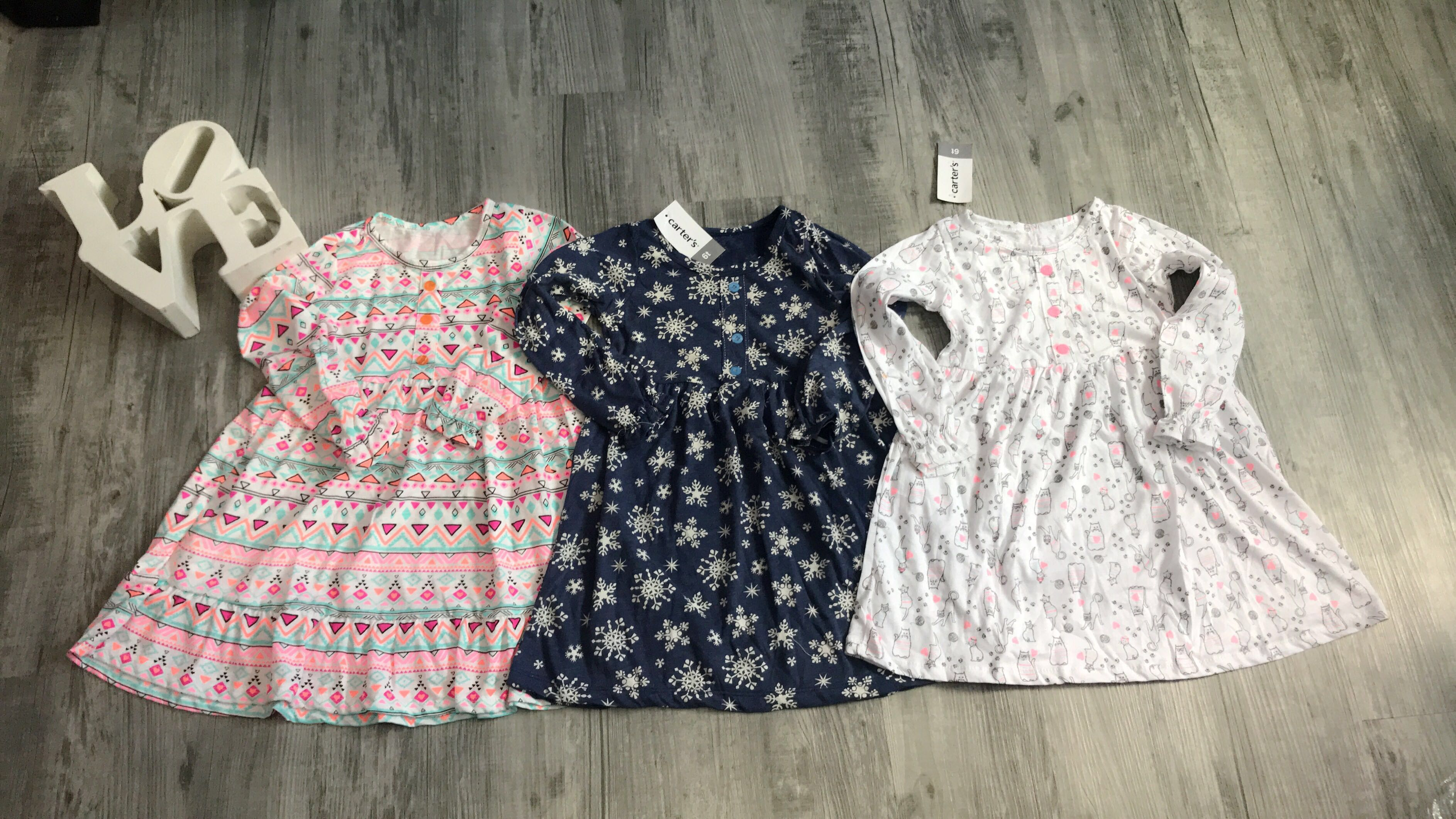 44c20881a57dd Carter's Baby Girl Dress, Babies & Kids, Girls' Apparel, 4 to 7 Years on  Carousell