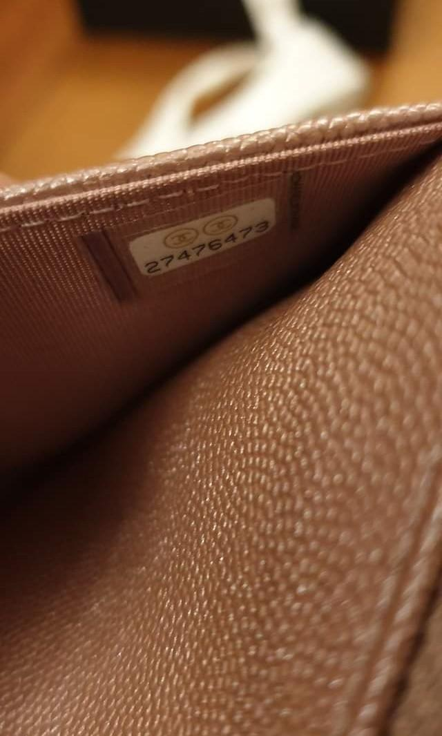 Chanel 19P Mademoiselle Rose Gold Wallet On Chain with SHW - Rare!