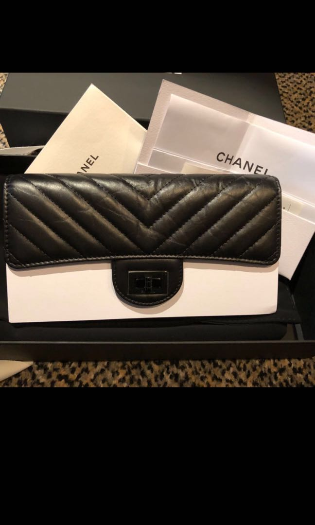 1fa3c396a222 Chanel Wallet So Black, Women's Fashion, Bags & Wallets, Wallets on  Carousell
