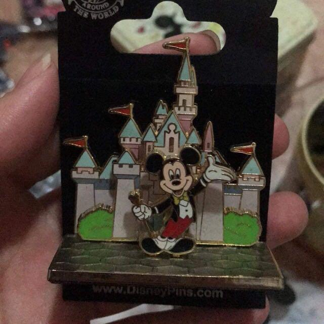 Disney Pin迪士尼立體襟章