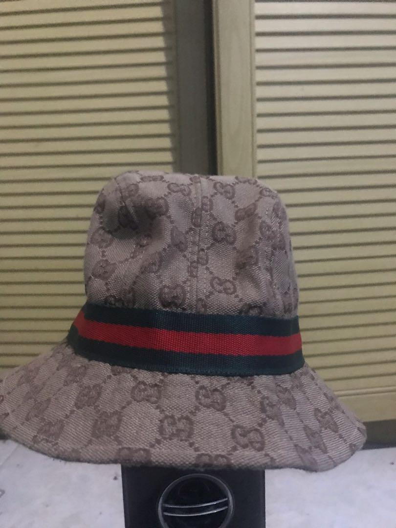 Fashion Gucci Hat, tag cut (Fashion/Not Ori)