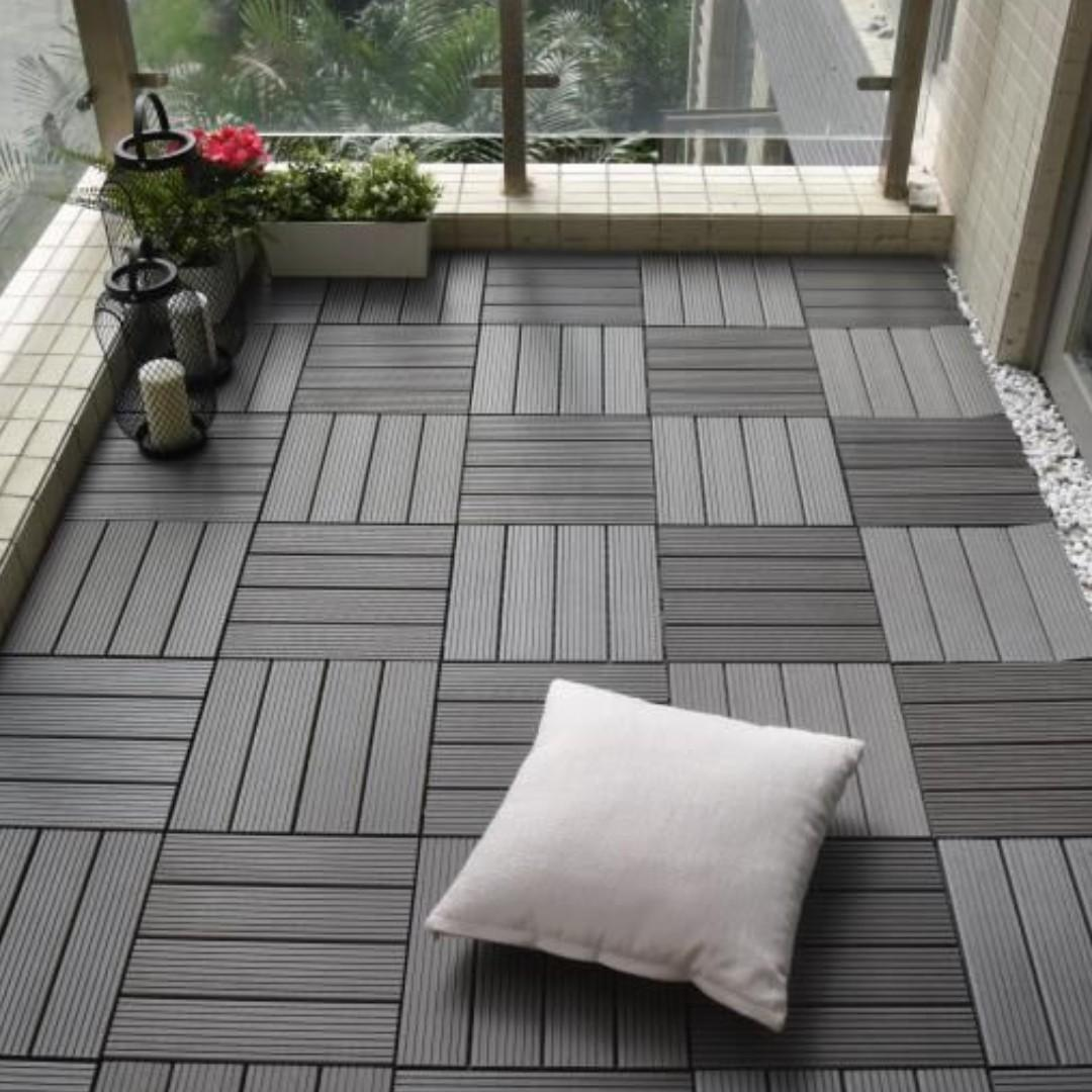 Ft001 Floor Tiles For Indoor Outdoor Balcony Patio Furniture Home Decor Others On Carousell