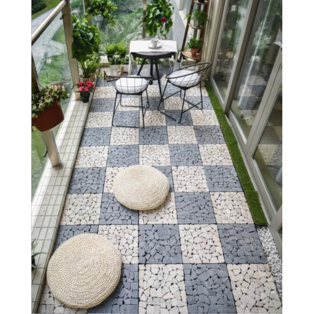 Ft003 Floor Tiles For Indoor Outdoor Balcony Patio Furniture