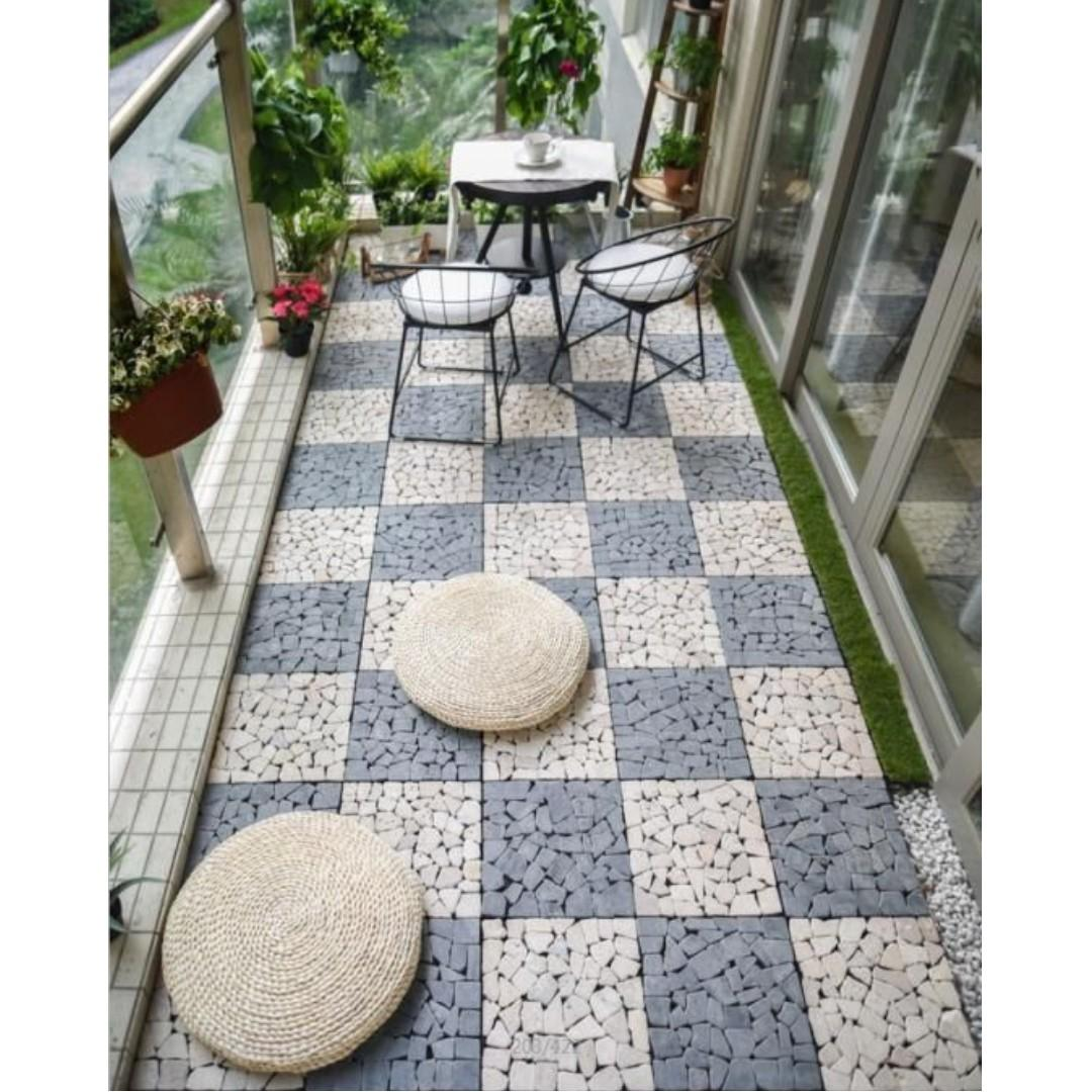 Ft003 Floor Tiles For Indoor Outdoor Balcony Patio Furniture Home Decor Others On Carousell