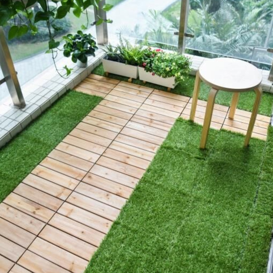 Ft004 Floor Tiles For Indoor Outdoor Balcony Patio Furniture