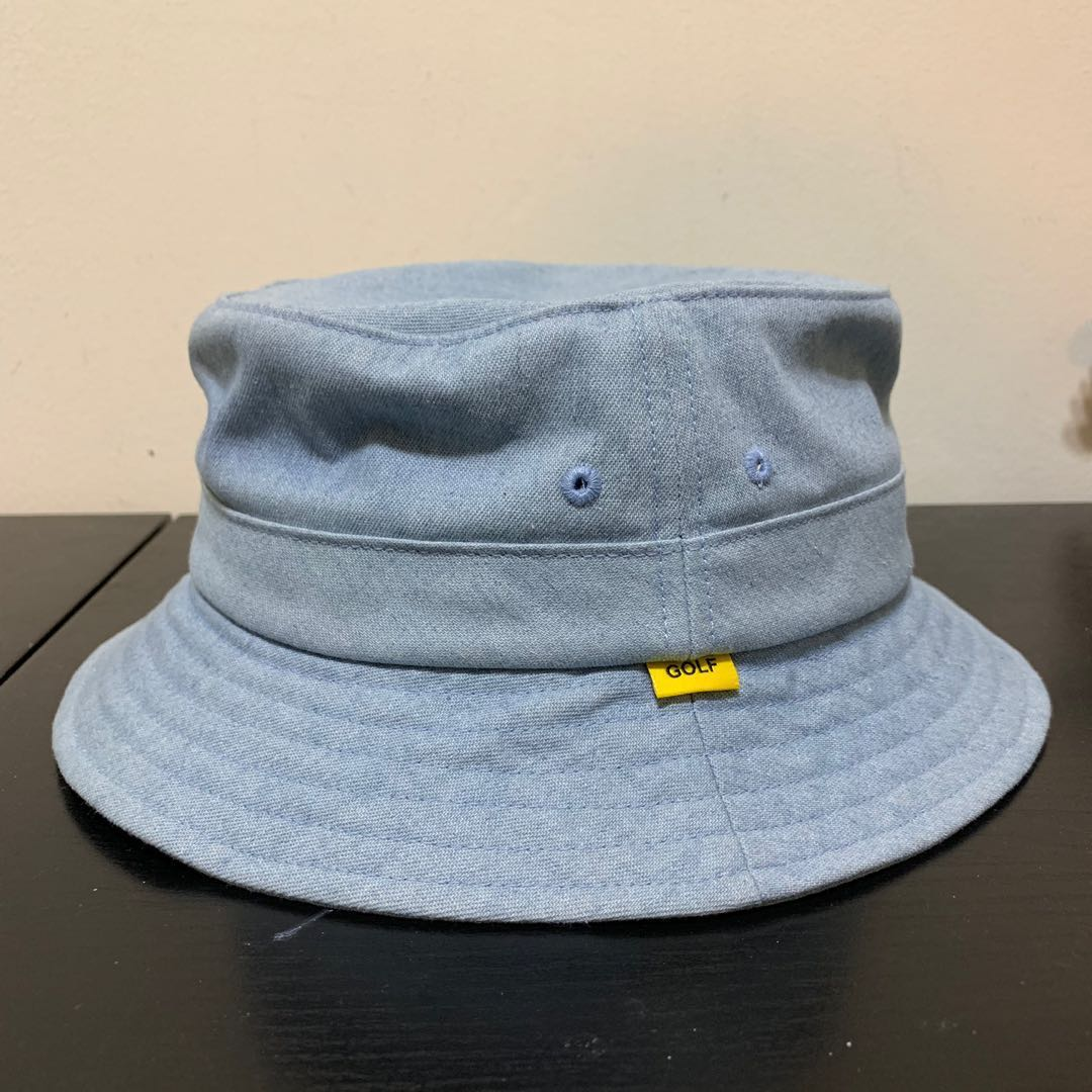 15d48130 Golf Wang blue bucket hat, Men's Fashion, Accessories, Caps & Hats ...