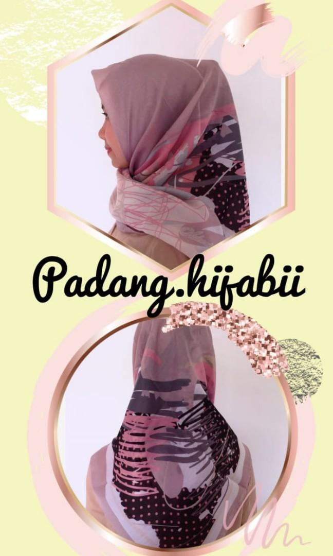 Hijab Voal Motif