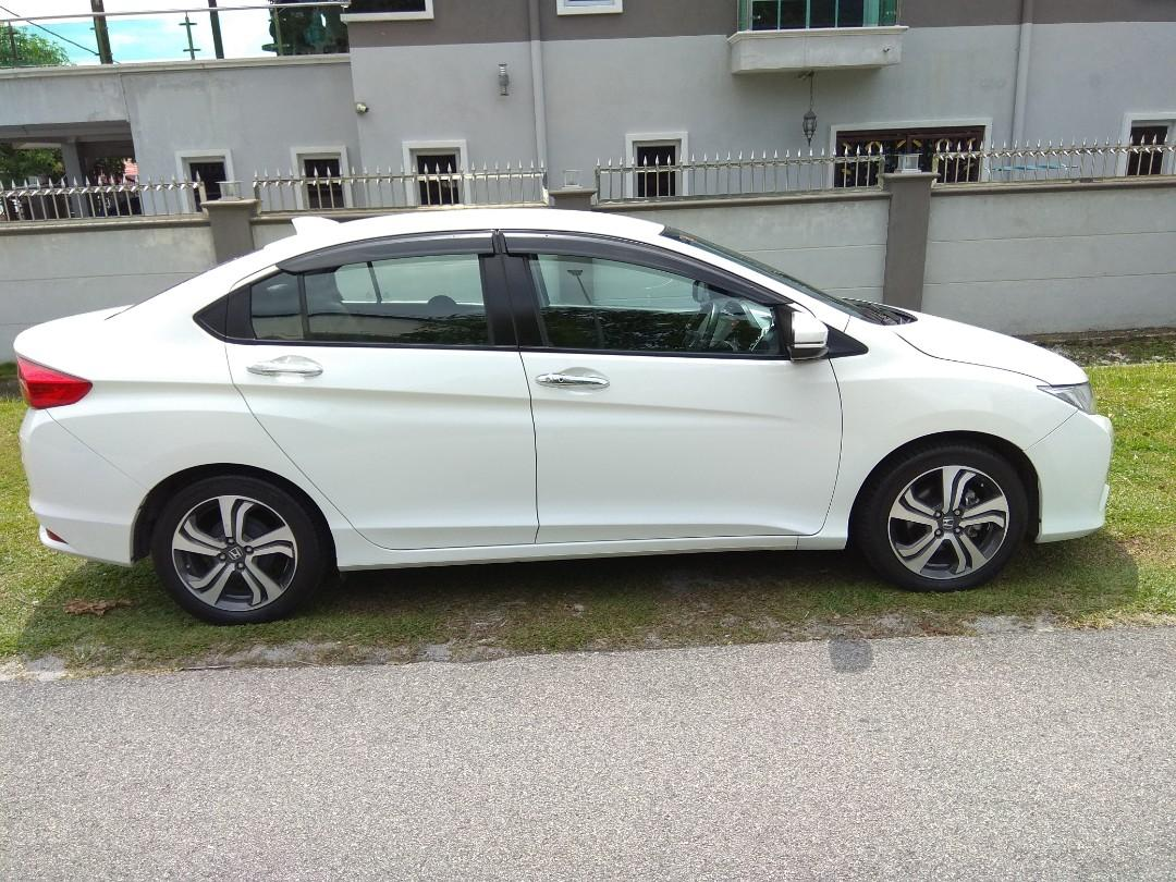 HONDA CITY 1.5 V (A) HIGHEST SPEC KEYLESS PUSH START STILL UNDER WARRANTY LOW MILEAGE