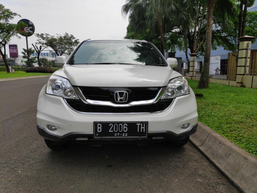 Honda CRV 2.0AT 2012 dijual plat istimewa B2006TH