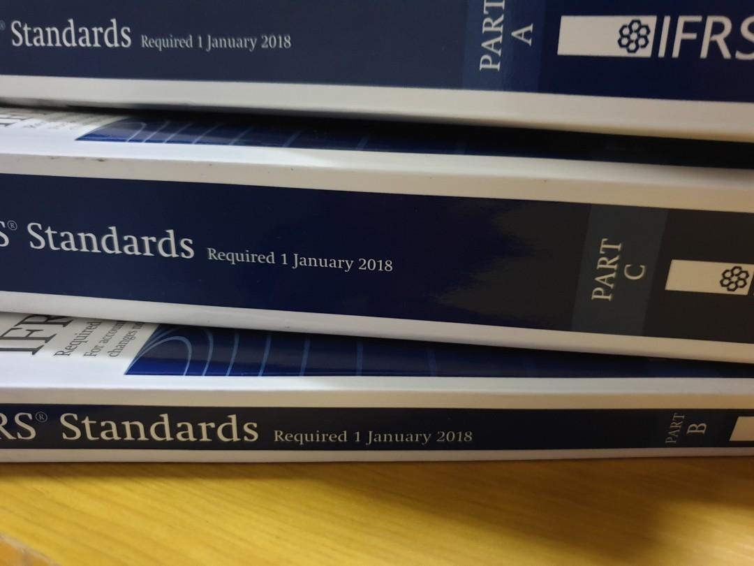 Ifrs icaew standards 2018