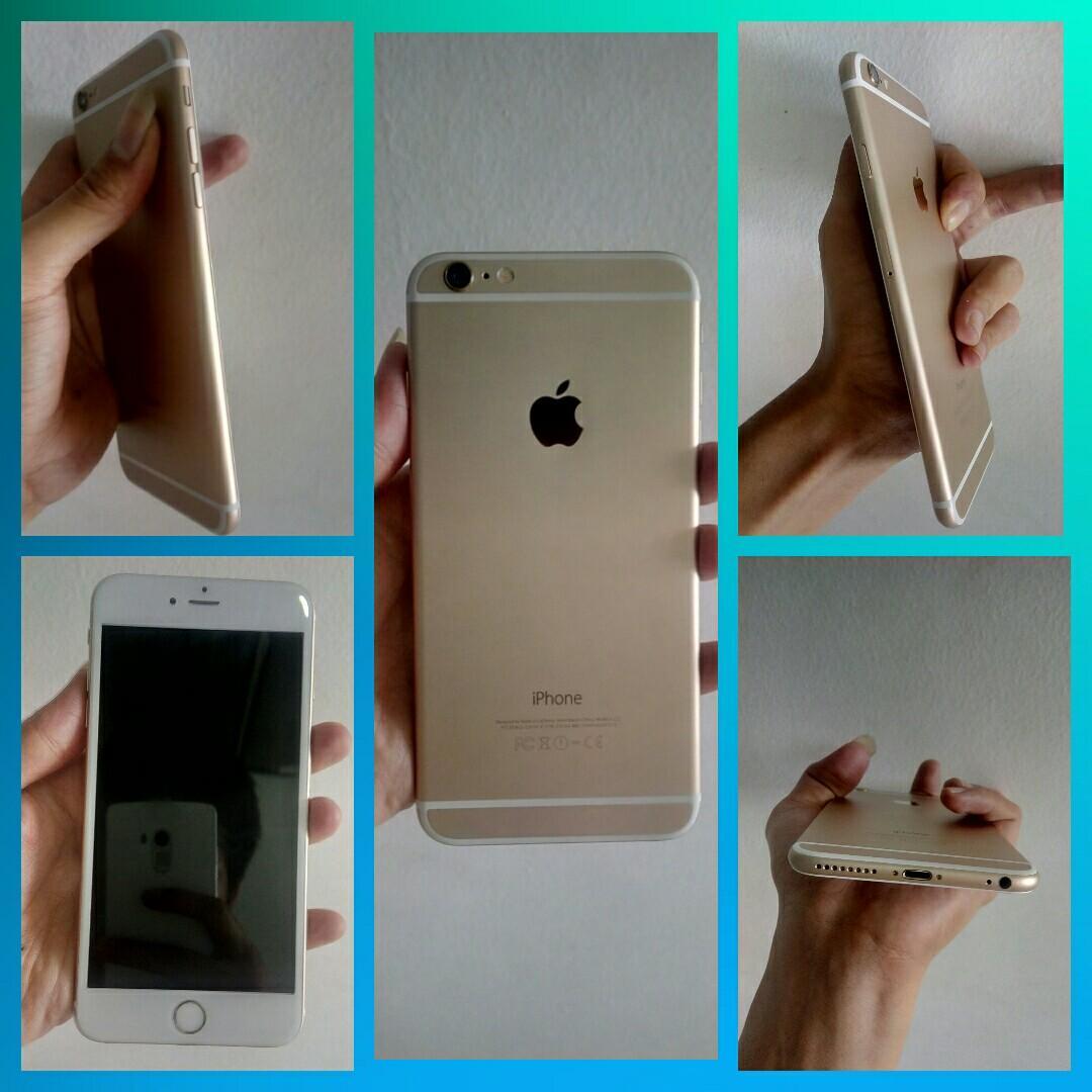 Iphone 6 plus 64gb second mulus original