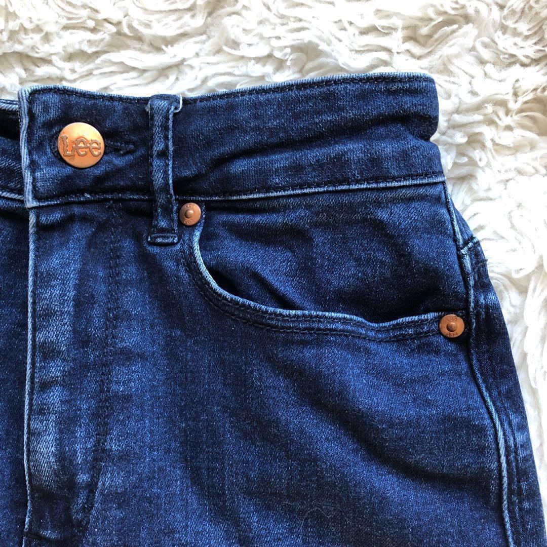 Lee Dark Blue Denim Mini Skirt Size 6