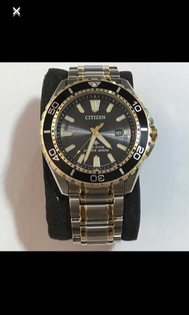 {Luxury Dress Watch - CITIZEN} Pre-loved NEW ARRIVAL Gorgeous LIMITED EDITION Authentic Eco-Drive CITIZEN PROMASTER DIVER Dress Watch - No Battery & Winding Needed