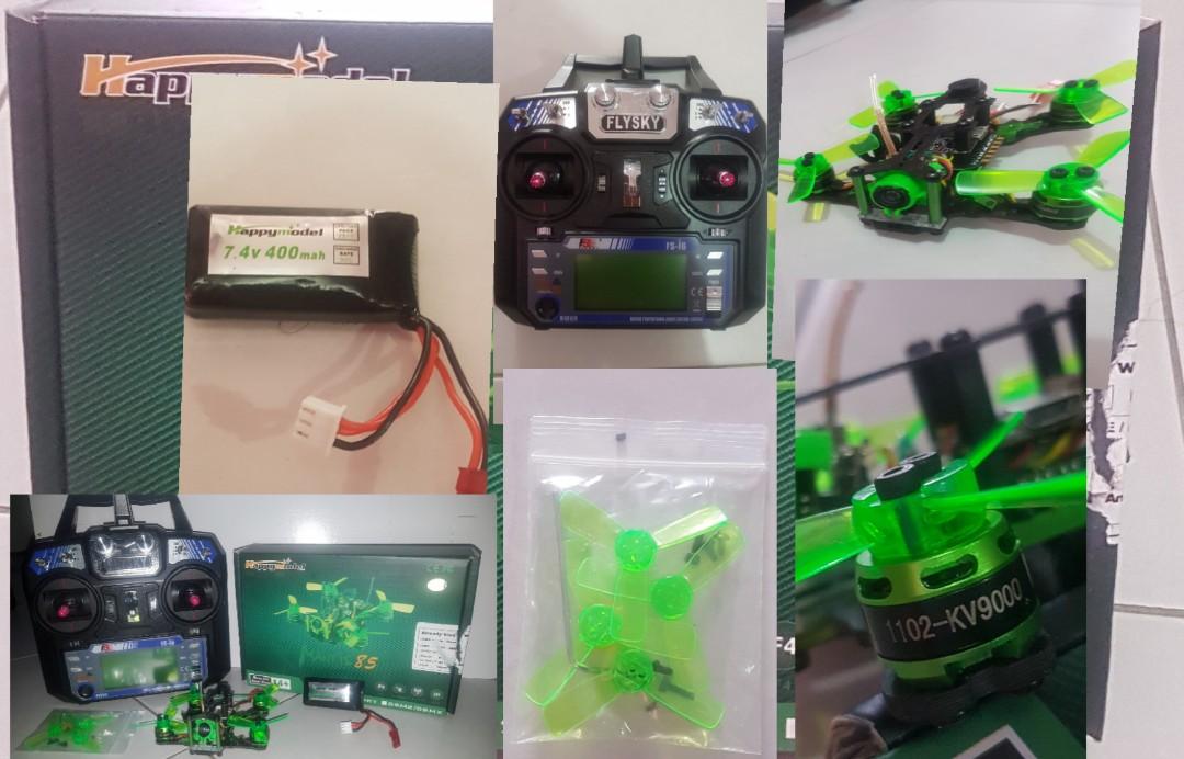 mantis 85 racing drone