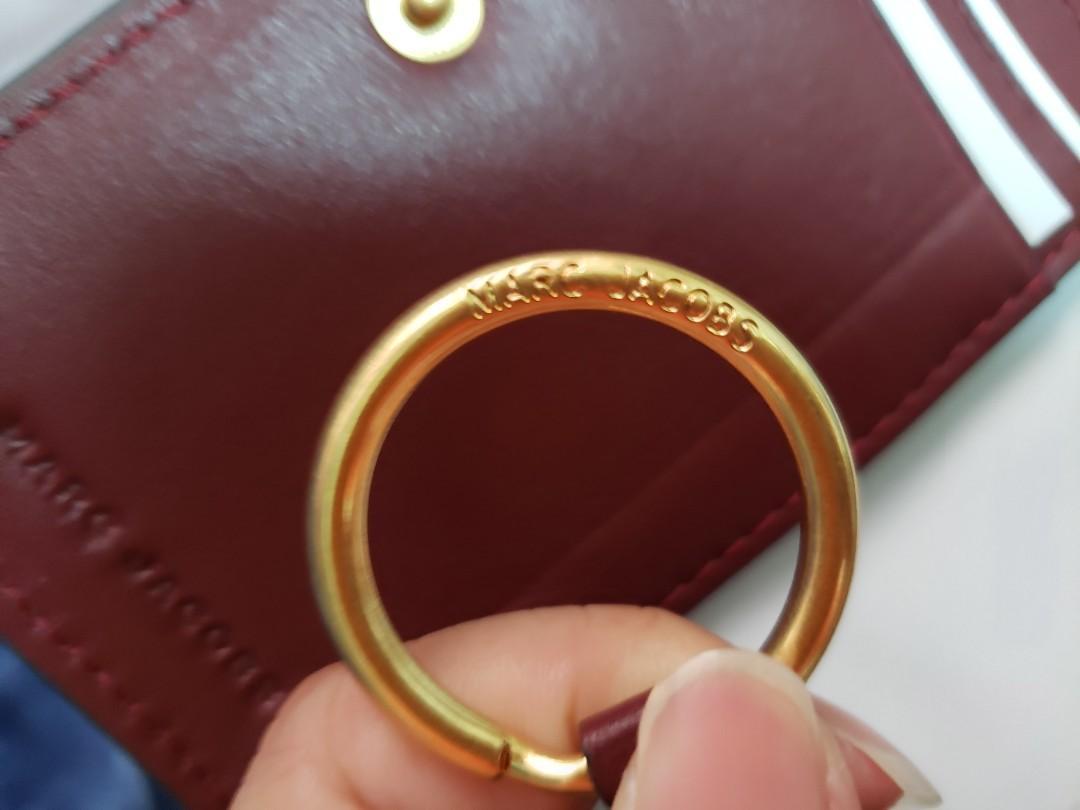 Marc Jacobs 酒紅色銀包 wallet