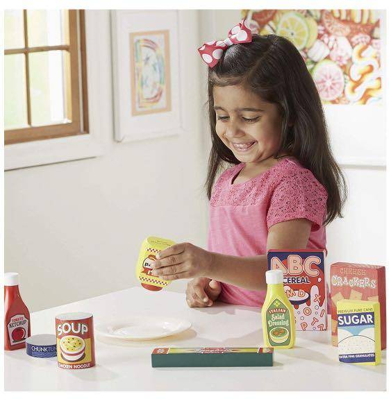 Melissa and Doug Wooden Pantry Play Set