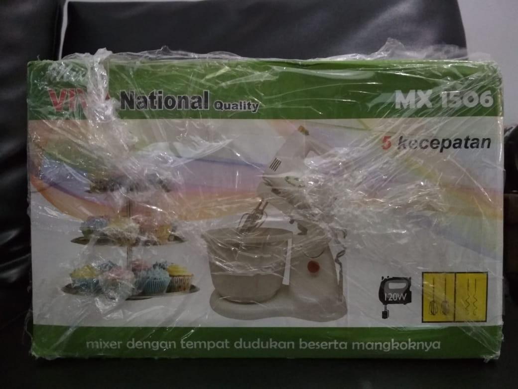 mixer national tipe MX 1506 pembuat kue