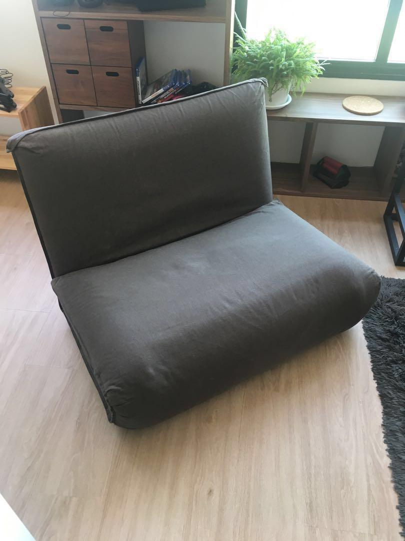 Fabulous Muji Convertible Sofabed Furniture Sofas On Carousell Home Interior And Landscaping Ologienasavecom
