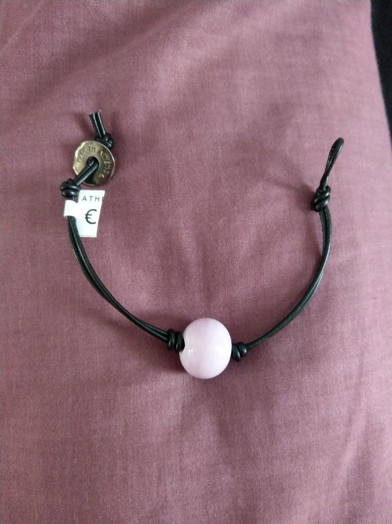 Murano Gl Charm Bracelet With