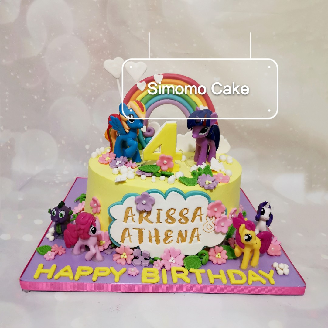 My little pony cake (FREE DELIVERY)