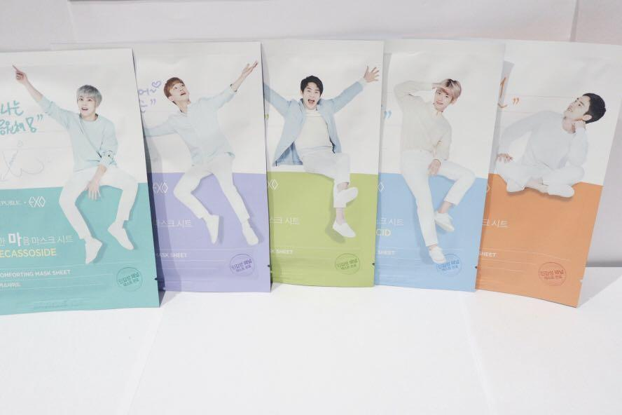 Nature Republic EXO Edition Mask (Limited Edition)