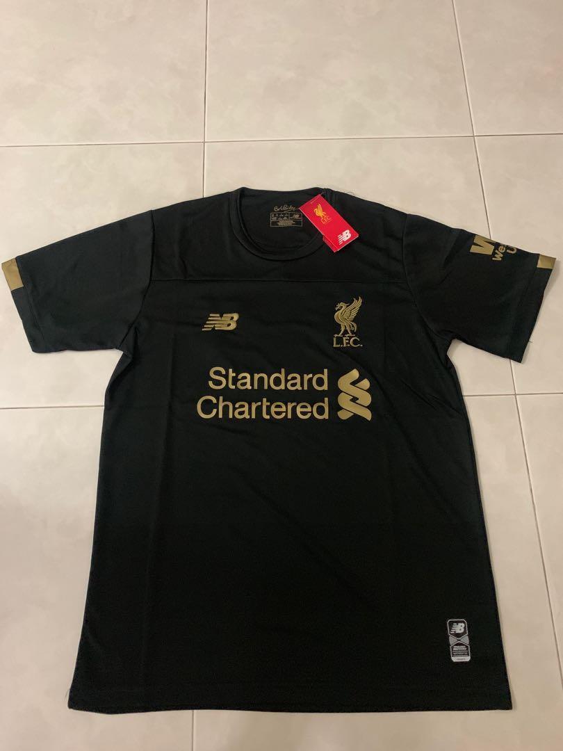 sale retailer d9e5d 1c140 New 19/20 Season Liverpool Home Goalkeeper Kit Jersey M Size ...