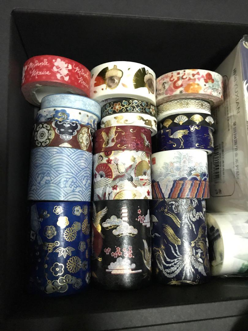 New Washi Tape Collection Japanese Crane Waves Fans Chinese Korean