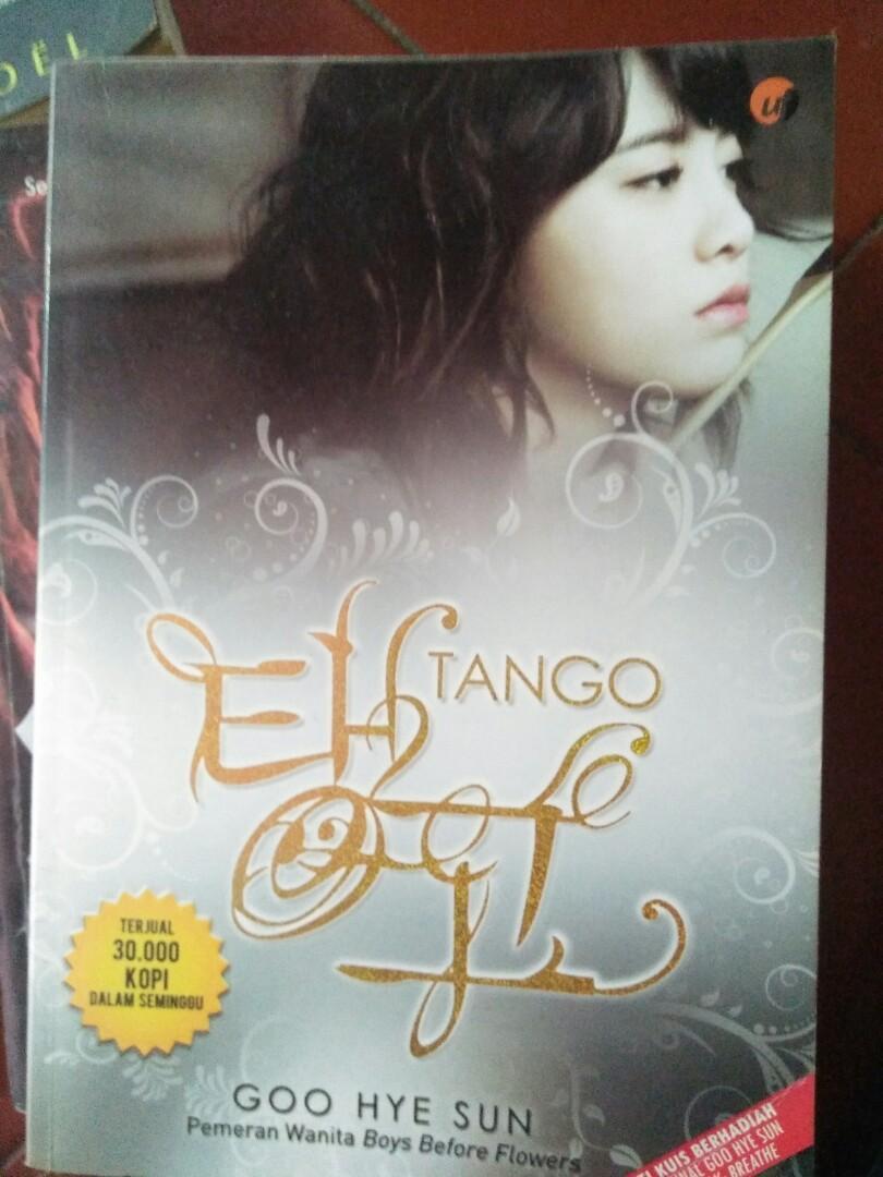 Novel Tango Go Hye Sun #mauvivo