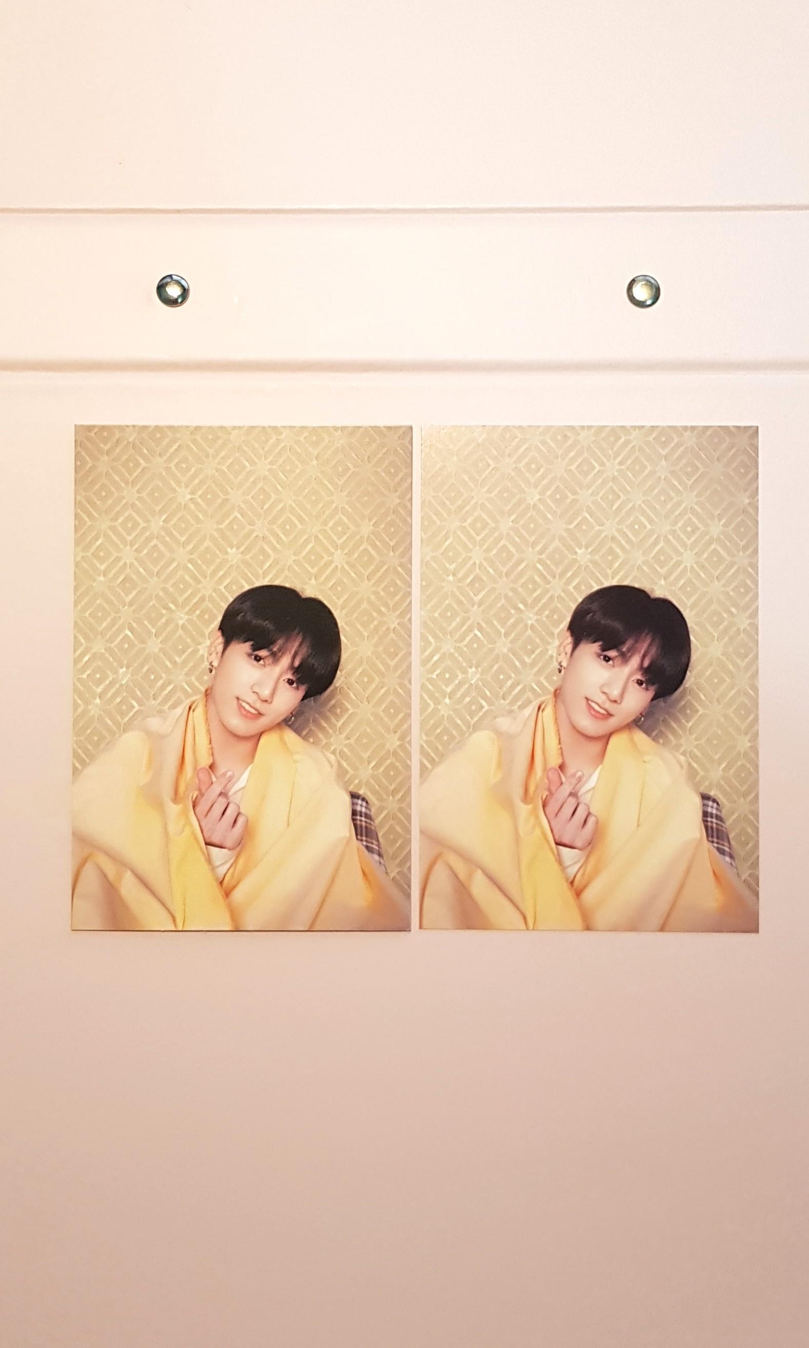 OFFICIAL BTS PERSONA Postcards [Jungkook VER.]