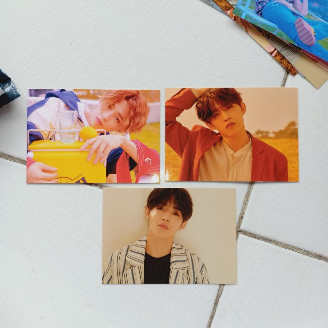 OFFICIAL PHOTOCARD KIHNO YOU MAKE MY DAY YMMD SEVENTEEN SEUNGKWAN JOSHUA SCOUPS JEONGHAN