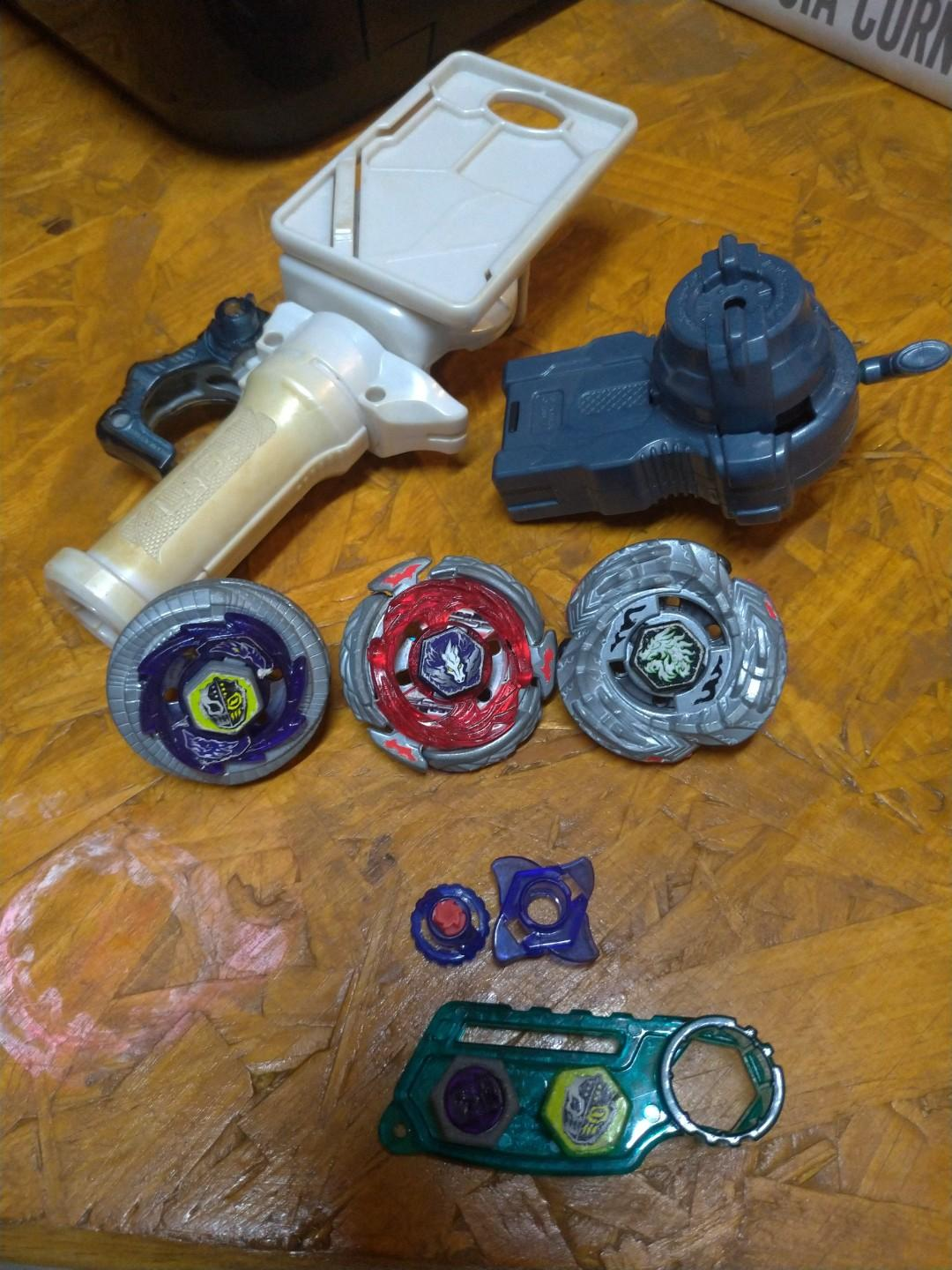 Original Metal Fight Beyblade Utimate Beyblade DX Set