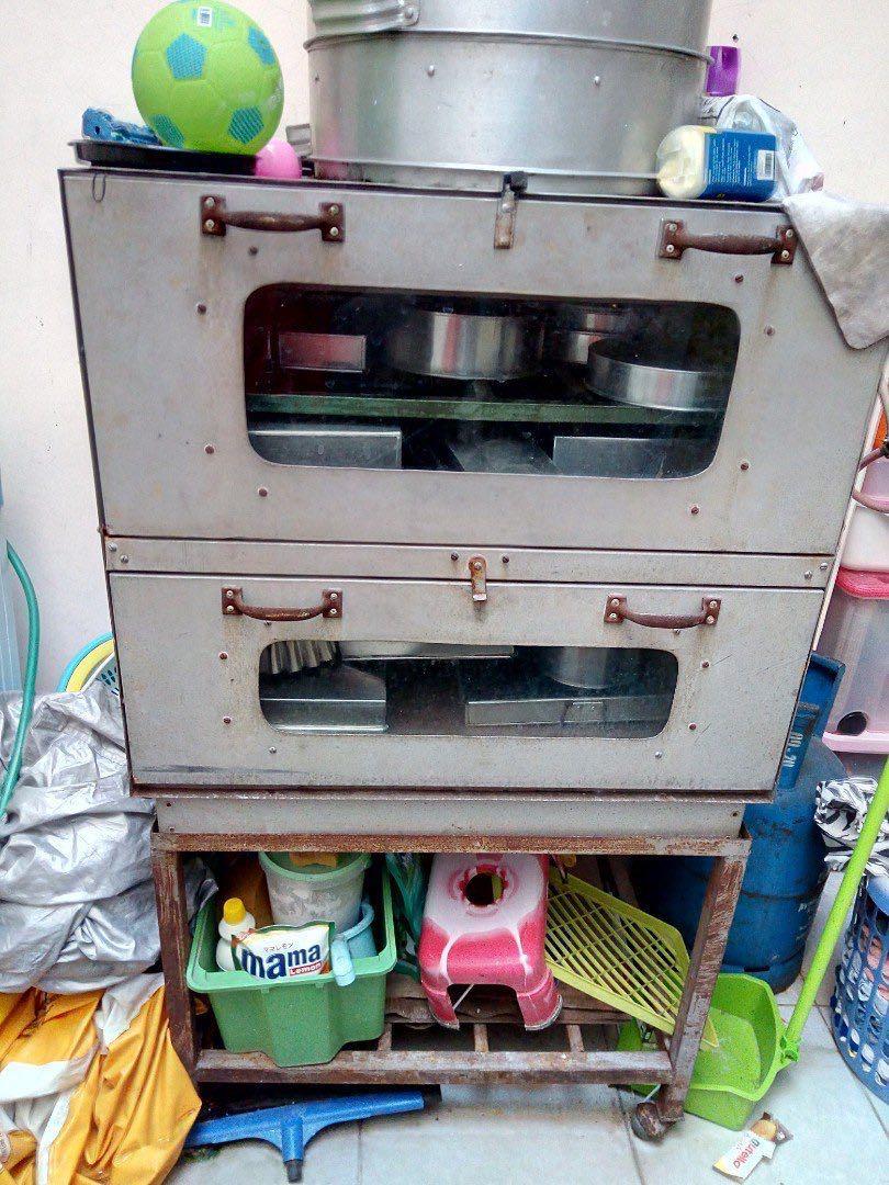 Oven 2 susun + Kukusan besar