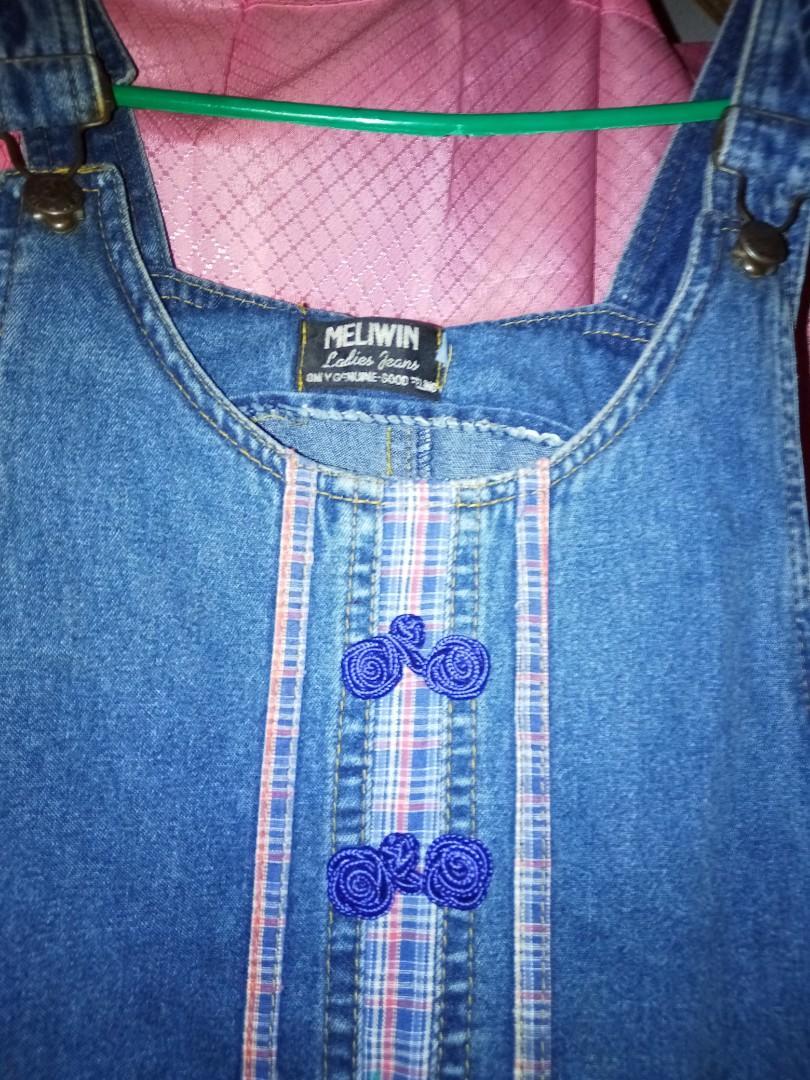 #BAPAU Overall Jeans