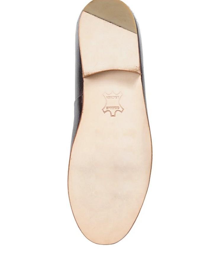 Passo patina loafers dark brown