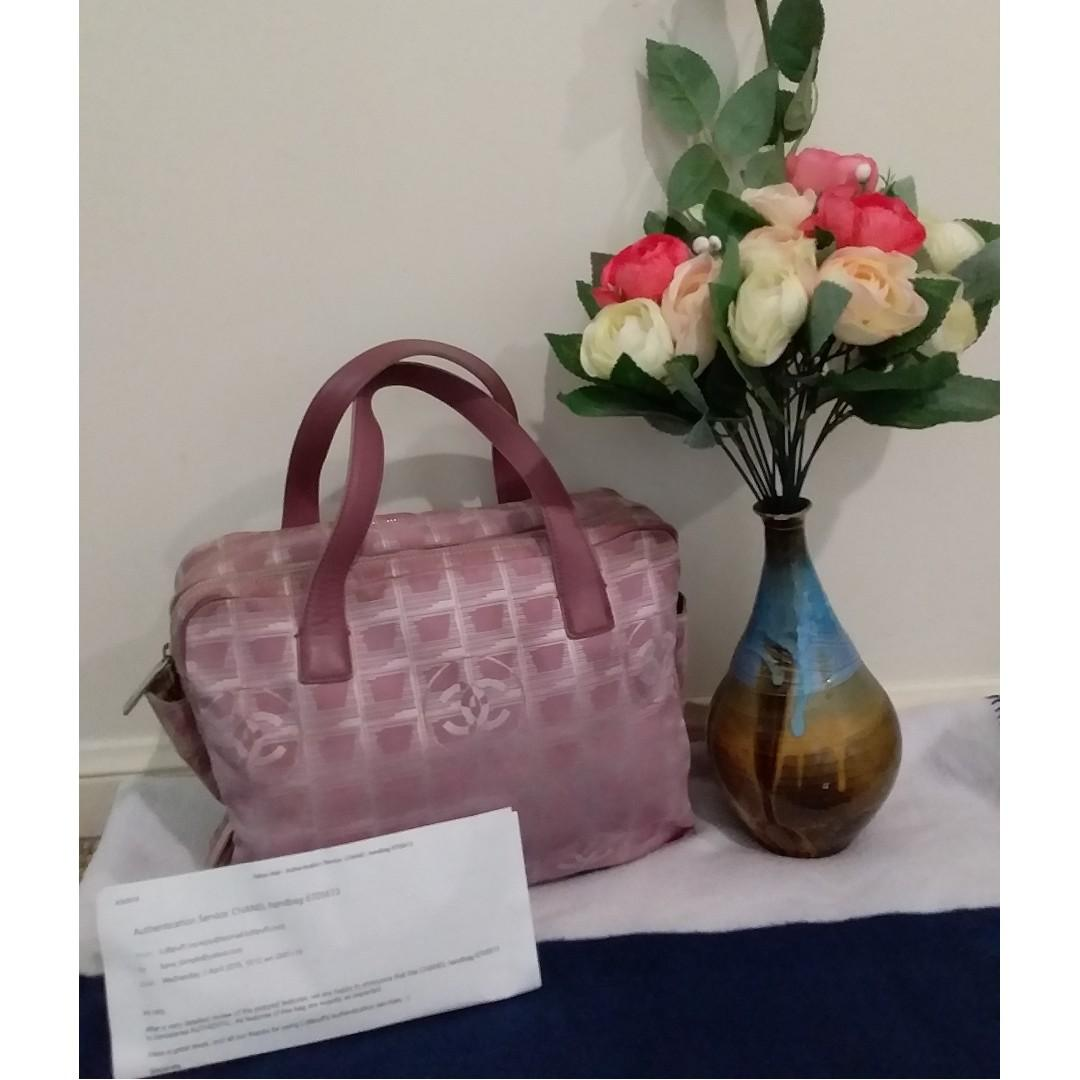 Pre owned authentic CHANEL handbag