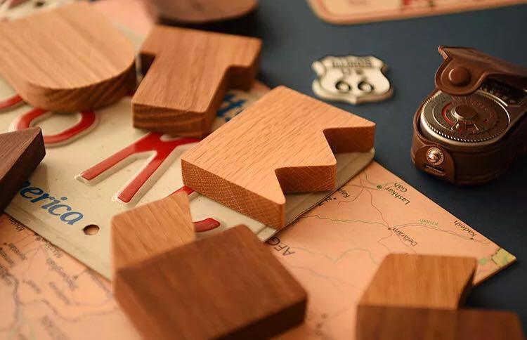 [preorder] dual tone wooden alphabets blocks