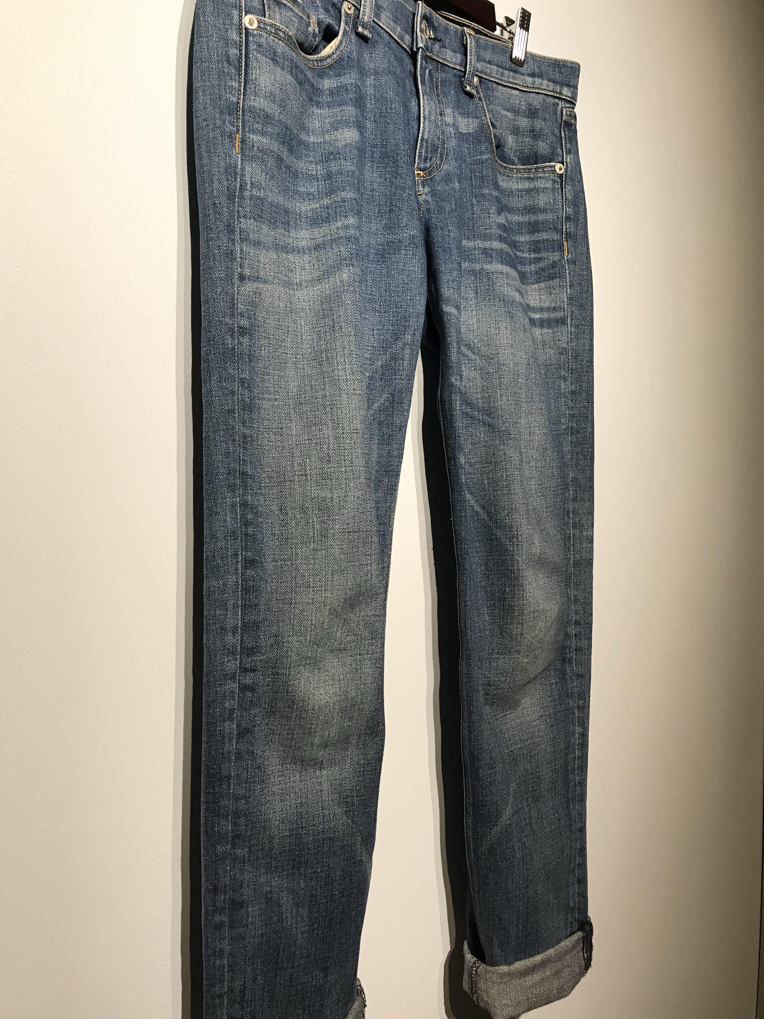 Rag and Bone Dre Boyfriend Roll Cuff Jeans Sz 28