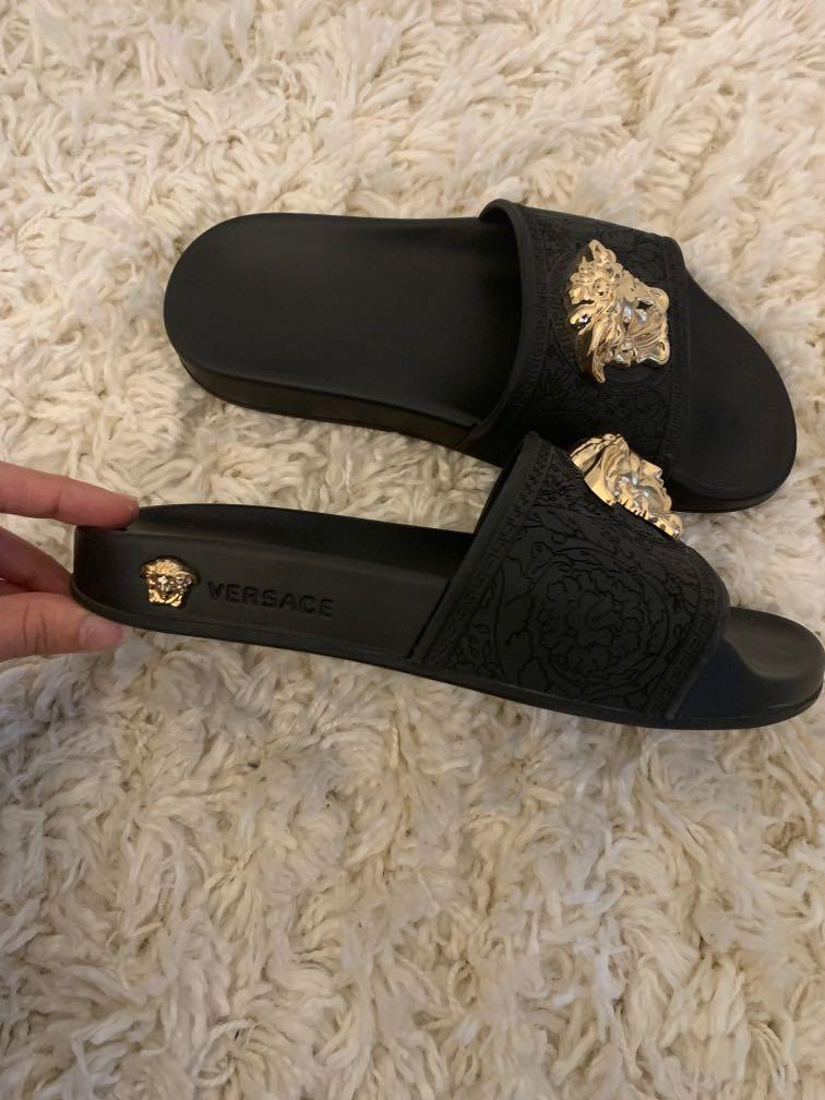 REAL VERSACE SLIDES