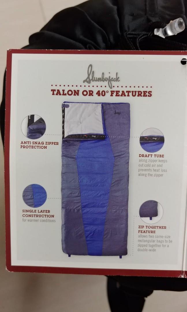 全新Slumberjack睡袋,牌都未剪