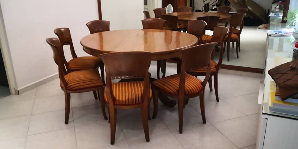 Solid Teak Dining Table Set For Sale Furniture Tables Chairs On