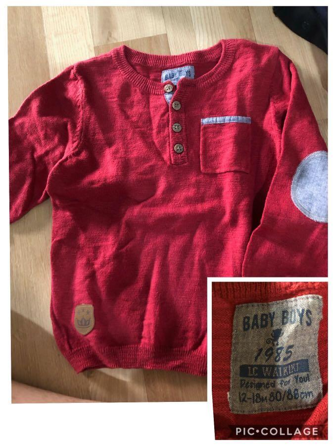 Take all baju anak laki authentic kemeja gingersnaps 18 sweater LC waikiki 12-18